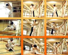 バレエのレオタード少女をコーチがレイプ