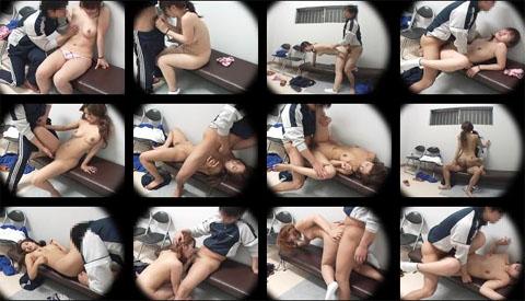 わいせつ教官に強制的に犯される若い女の子 矯正施設で下着姿から全裸へ